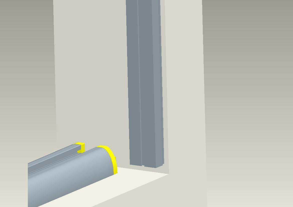 Omnifine retractable screen door and window vancouver install for Inside mount retractable screen door