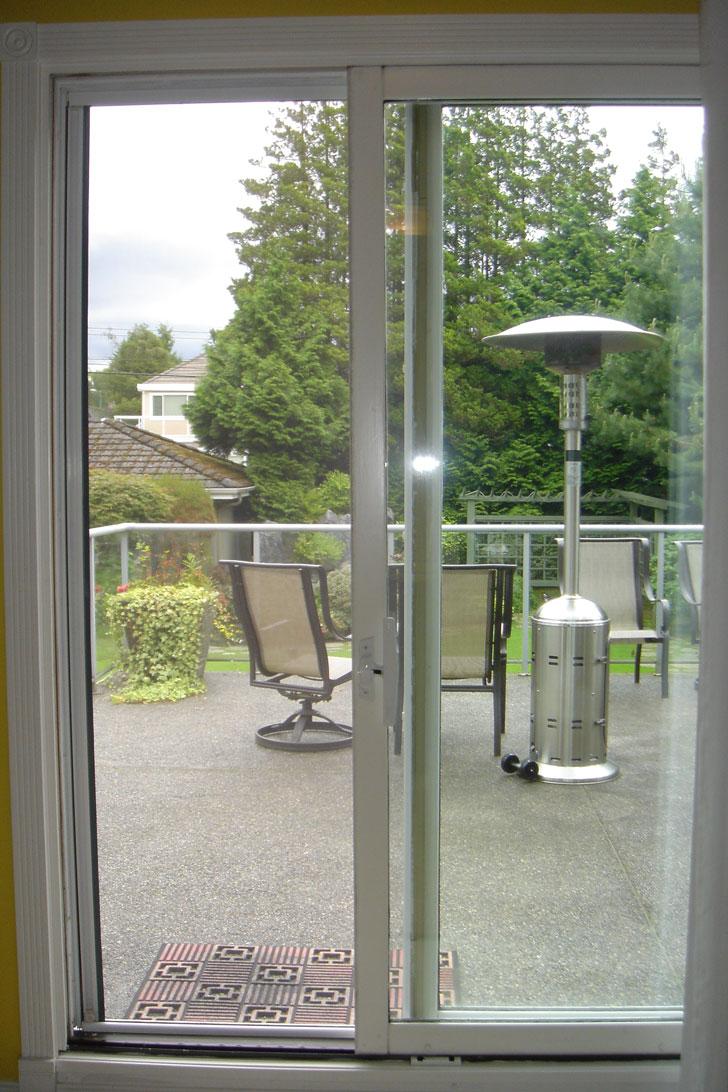 Balcony Sliding Door Balcony Glass Doors: Omnifine Retractable Screen Door And Window Vancouver