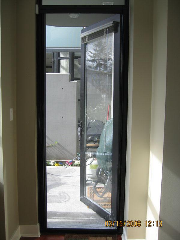 Outswing door retractable screen door double door outswing for Screens for french doors that open out