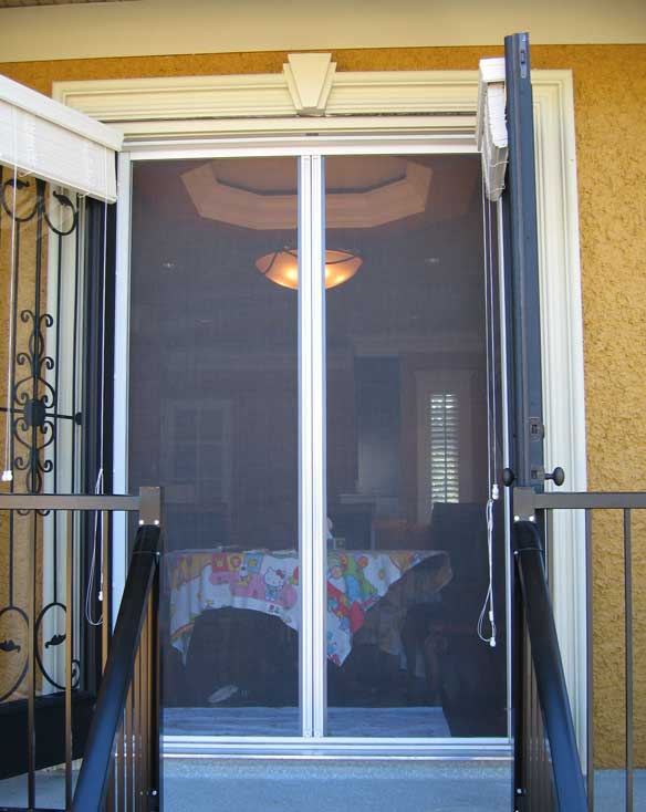 Omnifine retractable screen door and window vancouver for 48 inch retractable screen door